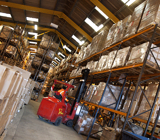 trade counter distribution order fulfillment and processing
